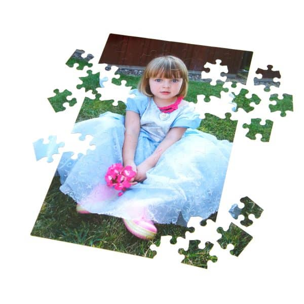 Kids love large format puzzles.
