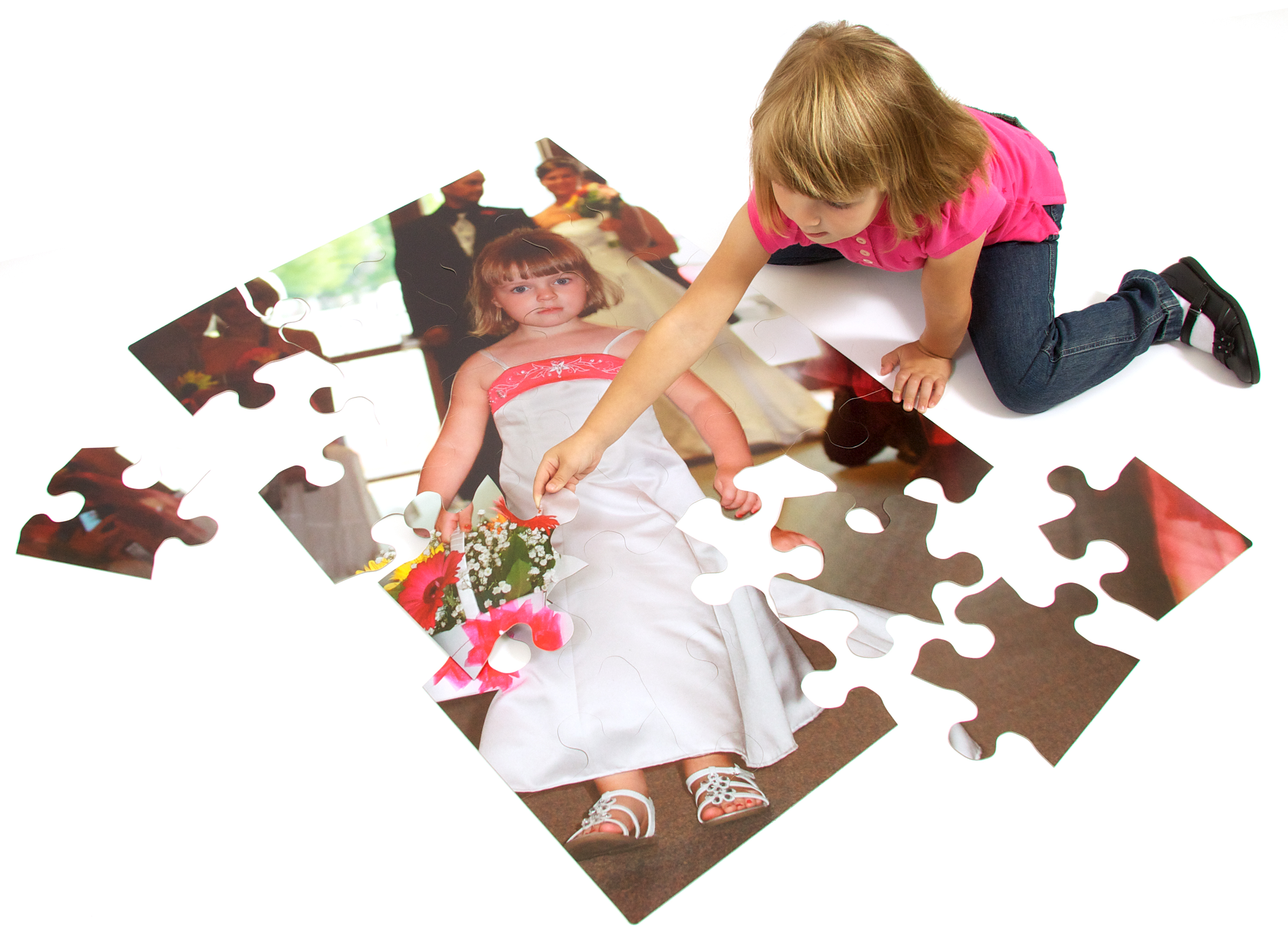 large custom photo floor puzzles
