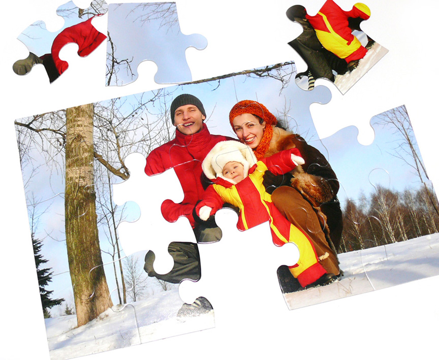 15-Piece Children's Custom Photo Puzzle