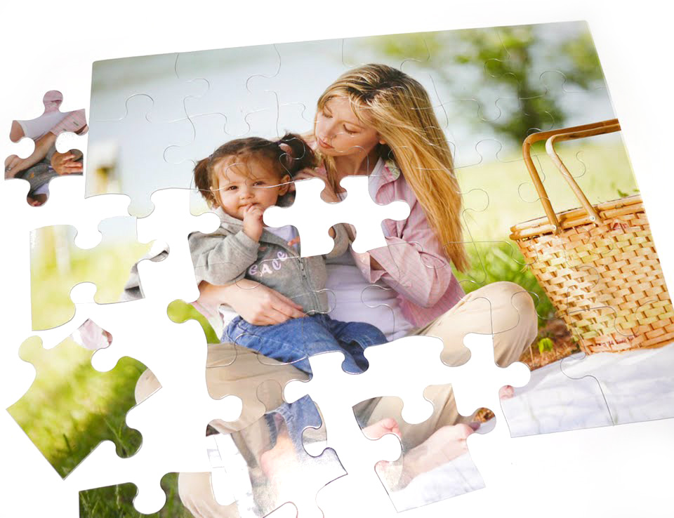 30-Piece Kids Custom Photo Puzzle