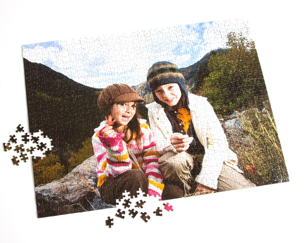1000-Piece Custom Photo Puzzle