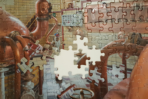 Sell wholesale custom jigsaw puzzles in your business.