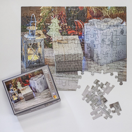 Photo puzzles make great gifts.