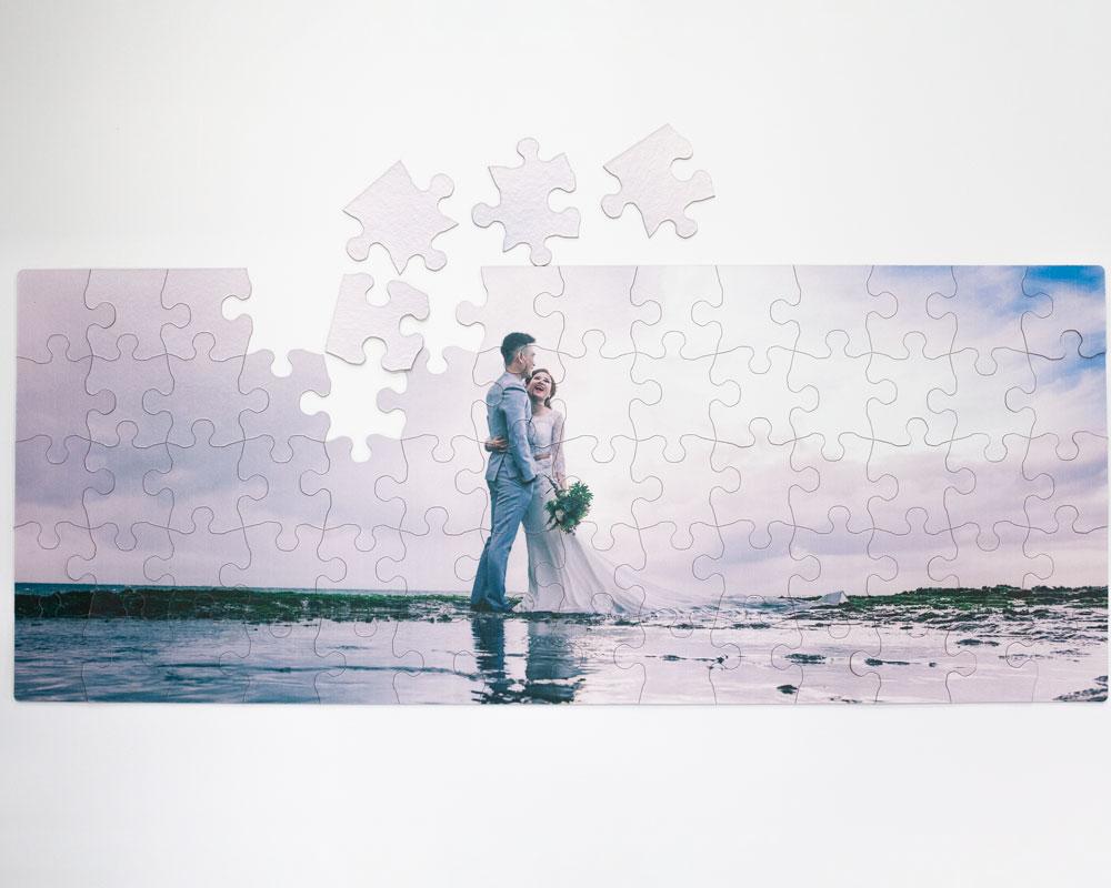 Custom Panoramic Photo Puzzle