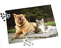 "17"" X 23"", 768 Piece, Custom Photo Puzzle"