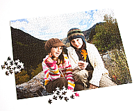 "20"" x 26""  1008 Piece Custom Photo Puzzle"