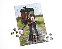 "16"" X 10"", 252 Piece, Custom Photo Puzzle"